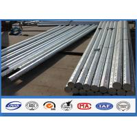 Wholesale 8M 9M 10M Galvanized Steel Pole wit Hot Dip Galvanization Min 86 microns from china suppliers