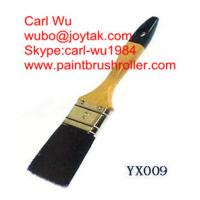 Natural pure bristle Chinese bristle synthetic mix paint brush wood handle plastic handle 2 inch PB-020