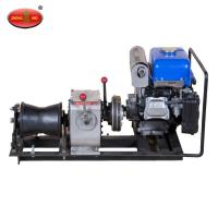 Wholesale China Brand Supplier 8 Tons Cable Winch With Diesel Engine Electrical Cable Winch from china suppliers