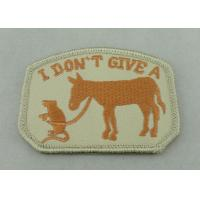 Wholesale 100% EMB Color Embroidery Uniform Patch With Velcro For Business Promotional from china suppliers