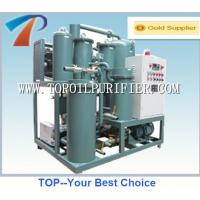 Quality Waste industrial oil purifying machinery for lube oils,vacuum,absorption,coacervation for sale