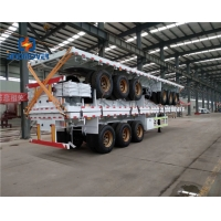 Wholesale 30T 7200x2500x1600Mm 2 Axle Semi Trailer Dump Truck from china suppliers
