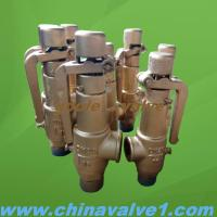 China Copper Spring loaded low lift type safety valve,bronze,brass material on sale