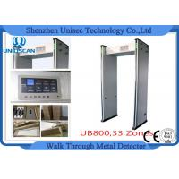Wholesale Door Frame Multi Zone Archway Metal Detector Magnetometer For Password Protection from china suppliers