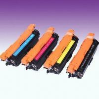 Wholesale Compatible Color Toner Cartridges for CE250X-CE253A, with Chip from china suppliers