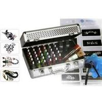 Wholesale 38 Colors Tattoo Pigment Temporary Glitter Tattoo Kit with Mini Air Compressor from china suppliers