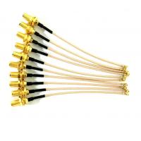 Wholesale Gold Or Nickel Plating Radio Frequency Connector For Network Communication Antenna from china suppliers