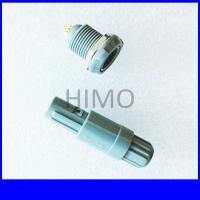 Wholesale double key 6 pin lemo self-latching plastic connector from china suppliers