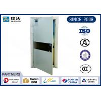 Wholesale Single Open Heat Insulated Fire Door With Single Leaf Solid Construction from china suppliers