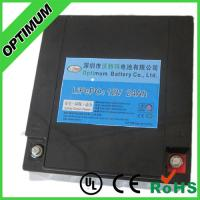 Wholesale High quality Medical equipment battery pack 12V 24AH Lithium Phosphate Batteries from china suppliers