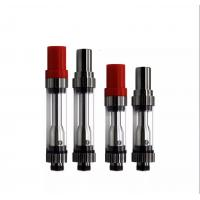 Quality Red Hat CBD Vaporizer Cartridge 510 Thread 3.3V-4.2V With Black Silver Color for sale