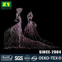 Wholesale Multi - Colors Rhinestone Decals / Wear - Resistant Hotfix Patterns from china suppliers
