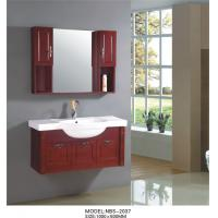 Cherry wood bathroom vanity optional drains faucet natural wood bathroom cabinets with for Cherry wood bathroom furniture