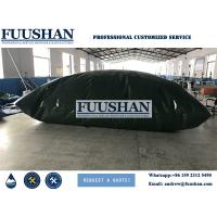 China Fuushan Soft PVC or TPU giant foldable bags 50 000 gallon water storage tank on sale