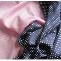 Wholesale Lean Textile spadex stretch satin fabric dot printed from china suppliers