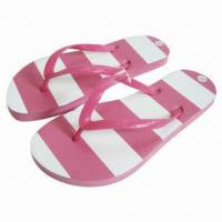Wholesale Flip-flops with PVC Upper/EVA Sole Materials and Fashionable Design from china suppliers