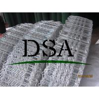 Wholesale galvanized hexagonal wire mesh with two reinforced lines from china suppliers