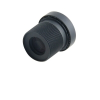 3.47mm Tachograph lens 8mp high resolution ultra high definition large angle large image plane f2.2 14 diamter lens top