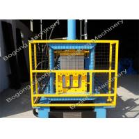 Wholesale Steel Rain Gutter Making Machine , Customized Gutter Rolling Machine from china suppliers