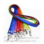 Personalized nylon lanyard with your logo print, small wholesale lot nylon neck