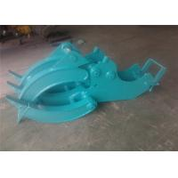 Wholesale Mechanical Wood Grapple Log Grapples for Excavators Kobelco SK80 from china suppliers