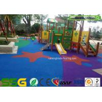 Buy cheap High Flexibility EPDM Rubber Flooring for Playground / Athletic Running Track from wholesalers