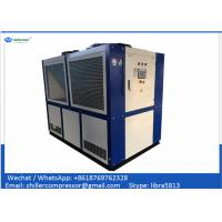 Quality Copeland Compressor 30 tons Air Cooled Water Chiller for Plastic Injection for sale