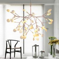 Quality Creative art beaded acrylic lighting chandelier modern european for household for sale