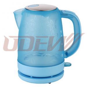 1.7L Transparent Plastic Electric Kettle Water Kettle