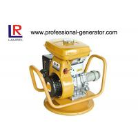 China Low Noise Gasoline / Petrol Vibrating Plate Compactor with 45mm Hose Shaft / Recoil Starter on sale
