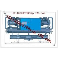 Quality Scroll Open Type Water Chiller/Chiller Machine for sale