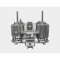 Wholesale Direct Fired 20 BBL Brewhouse , Pub Beer Brewery Equipment With Two Tanks from china suppliers