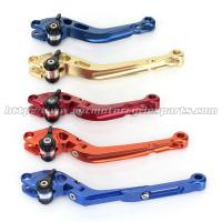 Wholesale CNC Milled Motorbike Brake Levers / Long Style Clutch And Brake Levers For Street Bikes from china suppliers