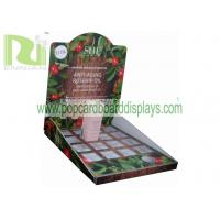 Wholesale Custom cosmetic point of sales grey board Cardboard Counter Displays units ENCD052 from china suppliers
