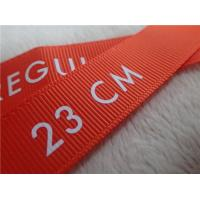 China Washable Screen Printing Tagless Labels  , Printed Labels For Clothing on sale