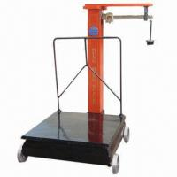 Wholesale 100 to 1,000kg Mechanical Platform Scale with Copper Rule and Square Pillar from china suppliers