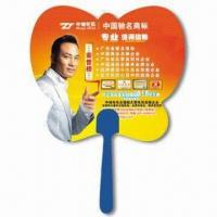 Wholesale Hand Fan, Suitable for Promotional Purposes, Made of PP, Customer's Logo Printings are Available from china suppliers