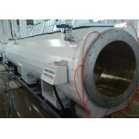 Wholesale Twin Screw Customized PVC Pipe Extrusion Line With High Speed And Capacity from china suppliers