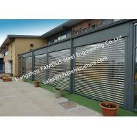 Wholesale Commercial Shop Front Polycarbonate Transparent Slat Shutter Door Aluminum Roll Up Security Doors from china suppliers