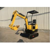Wholesale 1.0t mini crawler digger garden machine multi-functional caterpillar excavator from china suppliers