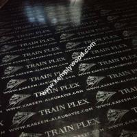 Wholesale Black film faced plywood with logo, black faced shuttering plywood, black film faced marine plywood from china suppliers
