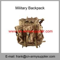 Wholesale Cheap China  Army Desert Brown Tan Military Police Alice Bag Backpack