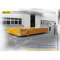 Wholesale Customized Load Capacity Motorized Transfer Trolley , Steel Coil Transfer Cart from china suppliers