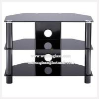 Wholesale Modern Black Tempered Glass TV Stand/TV Cabinet from china suppliers