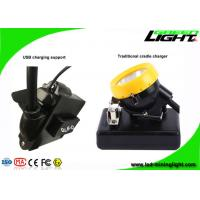 Rechargeable Coal Miner Headlamp Waterproof LED Cap Lamp with Cable USB Charging 10000Lux
