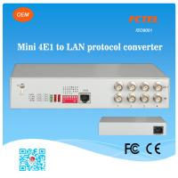 FCTEL 4E1 to Fast Ethernet LAN Managed Protocol Converter