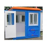 China Prefabricated Low Cost Fiberglass Sentry Box / Guard Shacks and Booths Well- designed on sale
