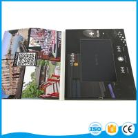 """Buy cheap Custom Business Brochure With Video Screen , 2.4"""" 4.3"""" 5"""" 7"""" 10'' Lcd Wedding Card from Wholesalers"""