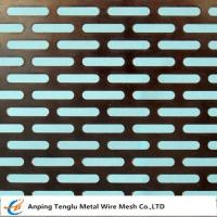 Wholesale Slot Holes Perforated sheet from china suppliers