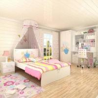 Wholesale E0 Grade Kids' Bedroom Set/Wooden Furniture, Chair, Printing Furniture, Disney, Princess from china suppliers